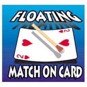 MAGIC FLOATING MATCH / MAGIC LEVITATE TRICK