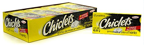 (Chiclets Gum by Adams (Mexican version) - 20 Packs of 12 Pieces Each; Variety)