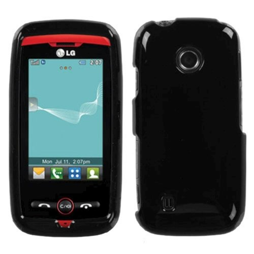 Solid Black Phone Cover Faceplate - 9