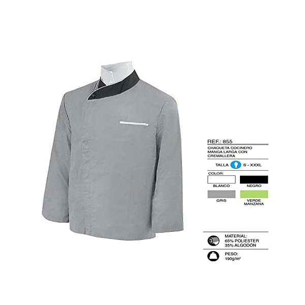 MISEMIYA Jacket Chaqueta Chef para Hombre 4