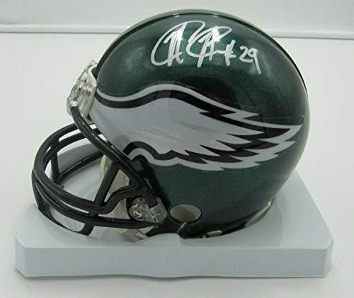 (Nate Allen Autographed Mini Helmet - Riddell PASS 142359 - Autographed NFL Mini Helmets)