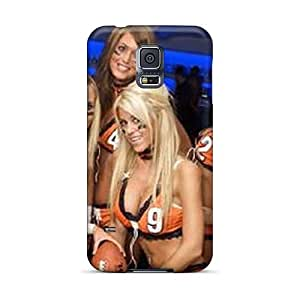 For Galaxy S5 Tpu Phone Case Cover(chicago Bears Cheerleaders)