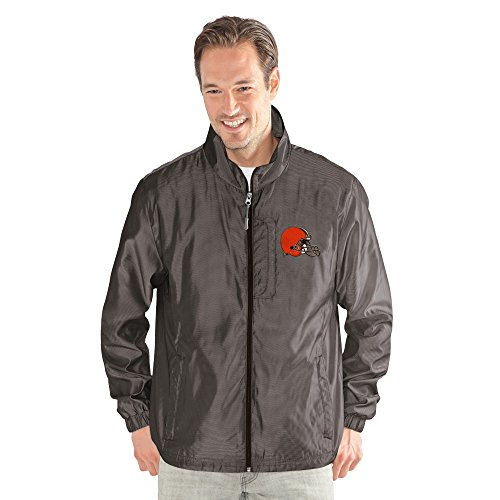 G-III Sports by Carl Banks Adult Men The Executive Full Zip Jacket, Charcoal Gray, Medium ()