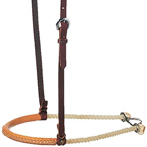 (Martin Saddlery Single Rope Leather Covered Noseband)