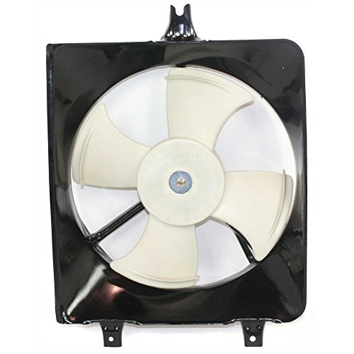 Evan-Fischer EVA24672025376 New Direct Fit A/C Condenser Fan Assembly for ACCORD 94-97 CL 97-99 V6 ()