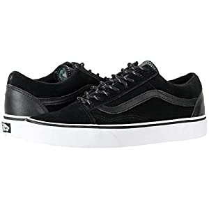 Vans Unisex Old Skool Trek Black/Wasabi Skate Shoe, 39 M EU/8.5 B(M) US Women/7 D(M) US Men