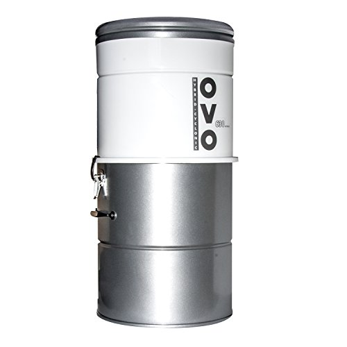 Large Capacity Central Vacuum System – Hybrid Filtration For Air Purification – 25L or 6.6Gal – 630 Airwatts Power Unit