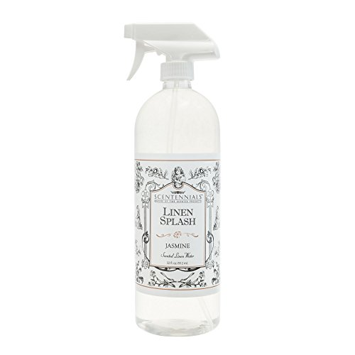 Jasmine Room Spray (Scentennials Linen Splash JASMINE 32oz - A MUST HAVE for all your linens, laundry basket or just spray around the house.)
