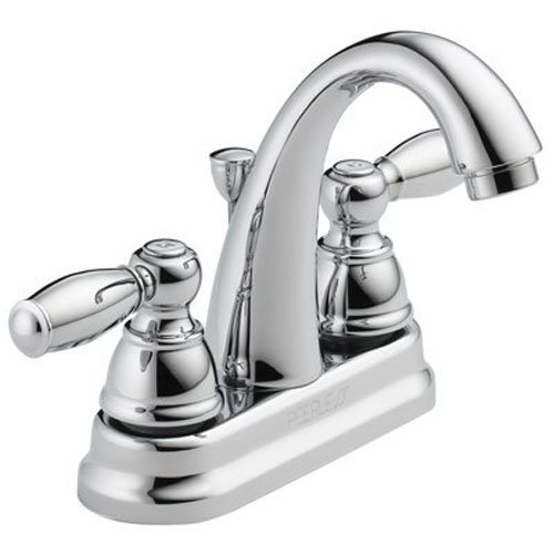 Peerless P299696LF Apex Two Handle Bathroom Faucet, Chrome