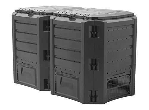 Innova Twin Modular 800L Garden Bin Composter Unit Eco Friendly Organic Waste Converter