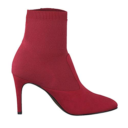 Bottes Bottes Tamaris Pour Rouge Femme Tamaris BSnqWnROT