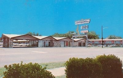 G1369 TX, Nacogdoches Continental Inn Postcard for sale  Delivered anywhere in USA