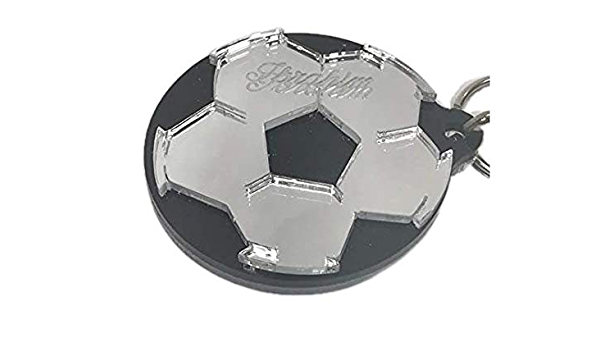 17 piece soccer ball puzzle Personalized Soccer team keychains