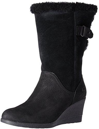 UGG Women's Edelina Winter Boot, Black, 6 M US]()