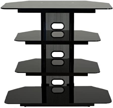 TransDeco Corner TV Audio Video Stand