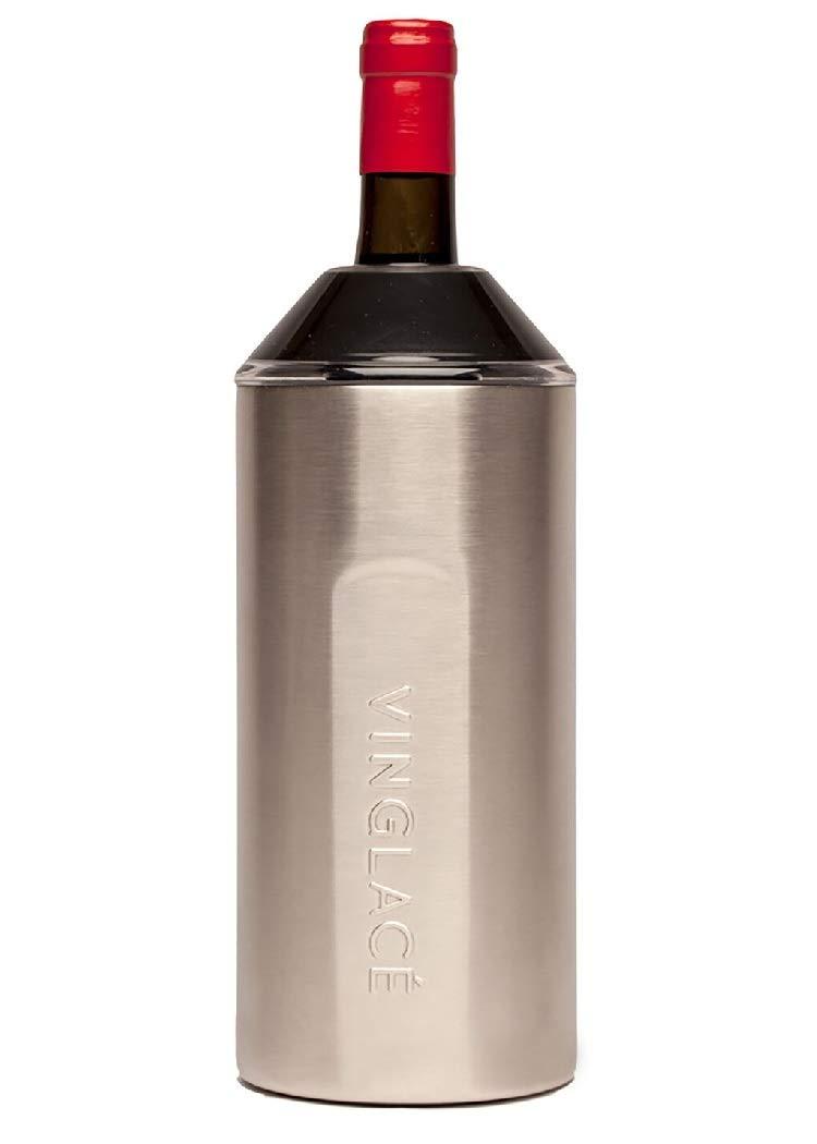 Vinglacé Stainless Steel Wine Insulator (Stainless Steel)
