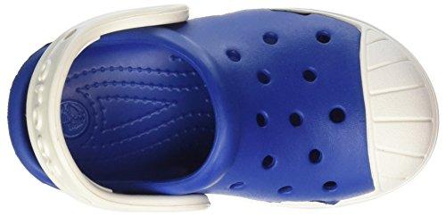crocs Unisex-Kinder Bump it Clog Kids Blau (Blue Jean/oyster)