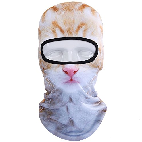 WTACTFUL Animal Balaclava Face Mask Breathable Wind Dust UV Helmet Liner Protection Skiing Snowboard Snowmobile Cycling Motorcycle Driving Riding Biking Fishing Hunting Music Festivals Halloween BNB10]()