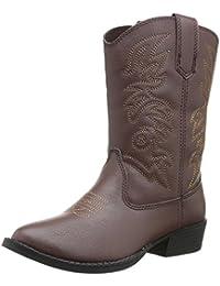 Ranch Unisex Pull On Western Cowboy Fashion Comfort Boot (Little Kid/Big Kid)