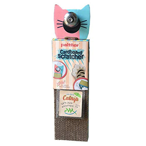 (West Coast Cat Scratch Pad, Scratcher with Catnip, Cat Toy Scratch Board, Door Hanging High-Density BB Pit Corrugated Paper Environmentally Friendly Scratch-Resistant Catnip Toys for Cats )
