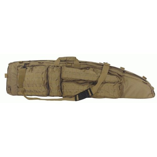Voodoo Tactical Ultimate Drag Bag Padded Weapon Case 15-7981 Coyote, Bags Central