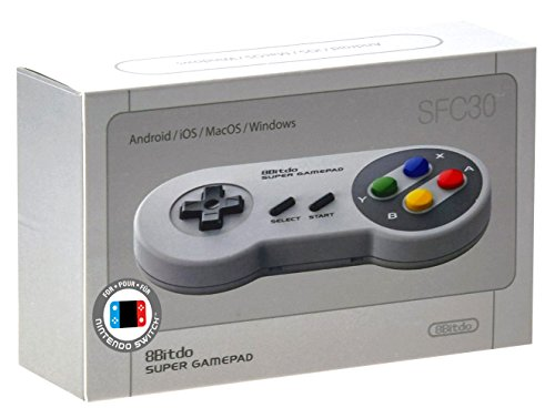 8Bitdo Mobile - Wireless - Bluetooth SF30 Controller for iOS, Android and PC