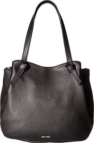 Nine West Womens Anaelle Carryall Tote Black One Size