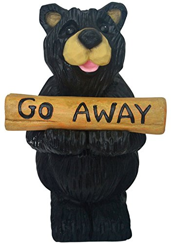 Go Away Bear Statue (Statue Bear Welcome)