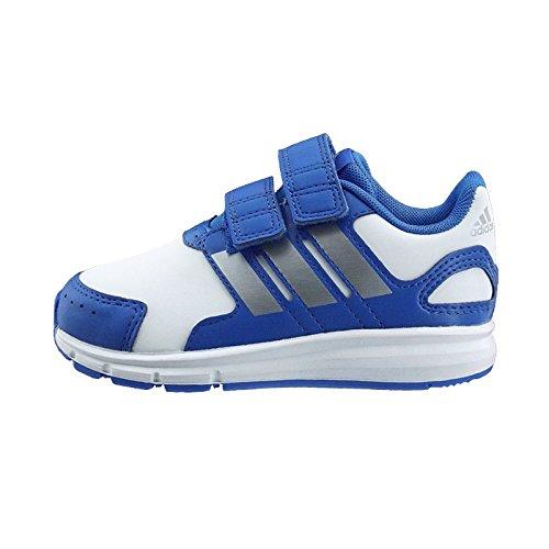 adidas LK Sport CF I - Zapatillas para niños Azul / Blanco / Plata