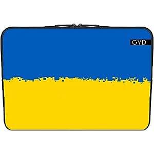 """Funda de neopreno portátil 13.3"""" pulgadas - Ucrania 8 Bits by Cadellin"""