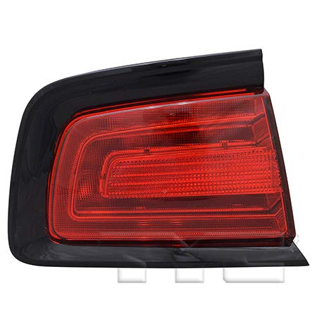 Fits 2011-2014 Dodge Charger Tail Light Driver Side NSF Certified Bulbs Included CH2804104 - Replaces 57010415AF ;
