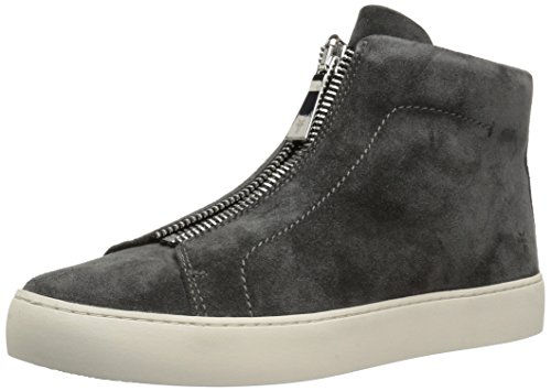 Suede Fashion Charcoal Frye Oiled Women's Soft Lena Sneaker Zip High vx7wRUqS