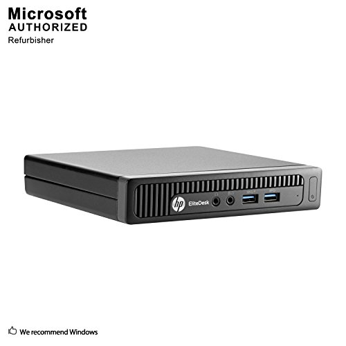 2018 HP EliteDesk 705 G1 MINI Desktop Computer,AMD Quad-Core A8 Pro-7600B up to 3.8GHz,8G RAM,500G HDD,WiFi,Bluetooth 4.0,W10P64 (Renewed)