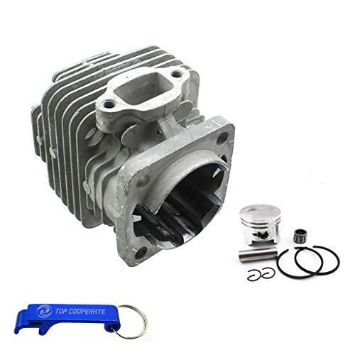 TC-Motor 44mm Ported Performance Racing Block Bore Cylinder For 2 Stroke 47cc 49cc Engine Mini Moto Dirt Pocket Bike ATV Quad
