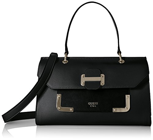 GUESS Tepper Top Handle Flap, Black