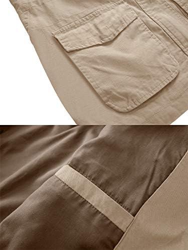 WenVen Women's Military Anorak Jacket Hoodie Lightweight Cotton Casual Coat