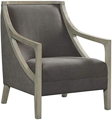 Picket House Furnishings Dayna Accent Chair with White Wash Frame