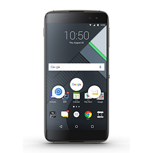 BlackBerry DTEK60 BBA100-2 Factory Unlocked Phone - Earth Silver (International Version)