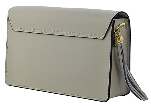 Bags Beige Bags Handbags Leather Cross ALBA Body Shoulder Genuine Women's 1qzdpwZcp