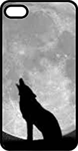 Wolf Howling AT Moon Tinted Rubber Case for Apple iPhone 4 or iPhone 4s Kimberly Kurzendoerfer