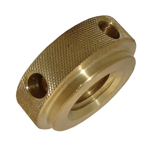 Morton Brass Knurled Nuts with Torque Holes, Inch Size, 1/4-20 Thread Size by Morton