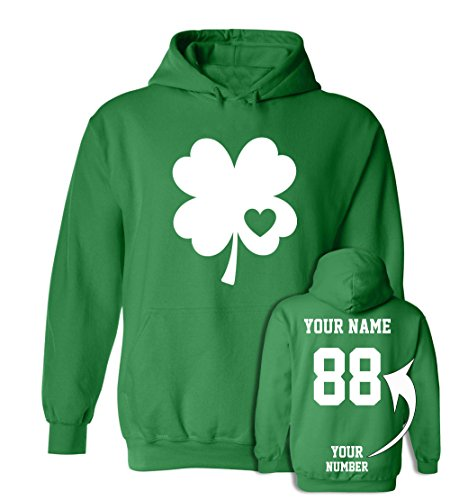 Hoodie Day - Custom Jerseys St Patrick's Day Hoodies - Saint Pattys Sweaters & Irish Outfits