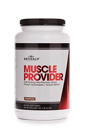 Beverly International Muscle Provider Protein Powder 30 servings, Chocolate. 10X-Strength whey protein hydrolysate-isolate for rapid lean muscle repair and growth. Easy bloat-free digestion. For Sale
