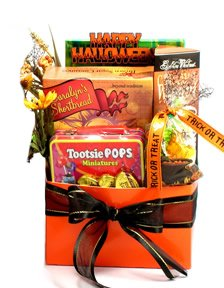 Halloween Gift Basket for All Ages