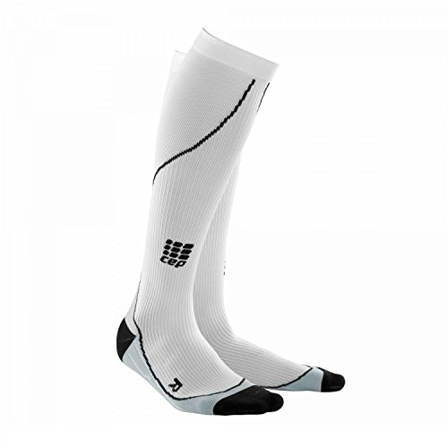 CEP Progressive Running Compression Socks - Women White - 3 - Women
