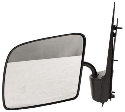 OE Replacement Ford Econoline Van Driver Side Mirror Outside Rear View (Partslink Number - Van Econoline E-350
