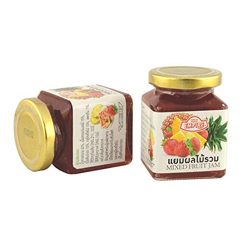 Pack 2 Empire Fruit Jam Total 220 grams. Use to make bread, crackers or eat with fruit salad.