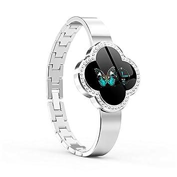 ZLOPV 2019 Smart Watch Diseño de la Forma de la Flor S6 ...