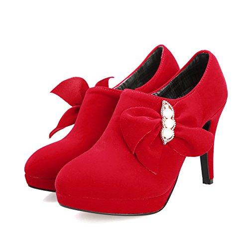 red 1TO9 Escarpins femme Escarpins pour 1TO9 pour femme red Ifq8wq