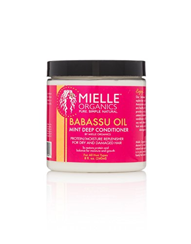 Mielle Organics Babassu Oil Mint Deep Conditioner, 8 oz., Pa